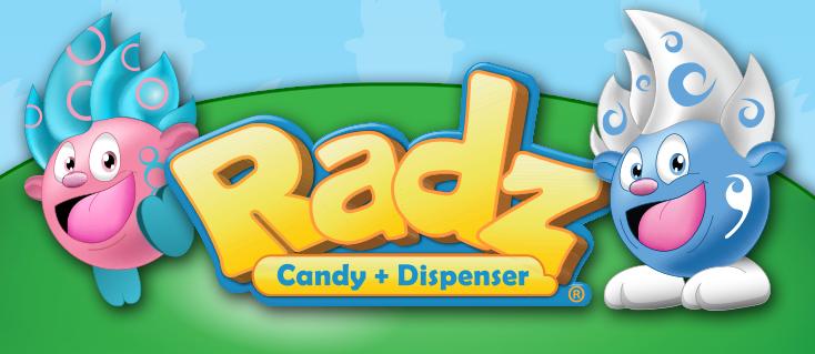 Radz Candy + Dispenser