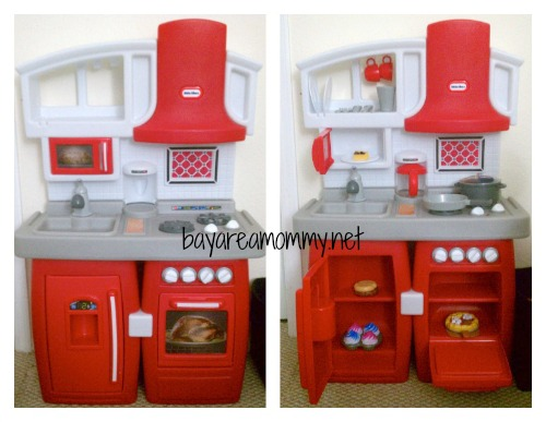 Little Tikes Cook n Grow Kitchen Review | Bay Area Mommy