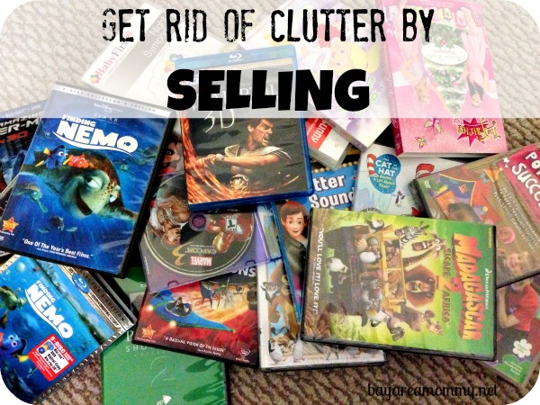 Get rid of clutter by selling