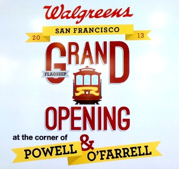 Walgreens Flagship Store San Francisco Grand Opening #SFWAG