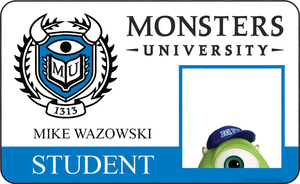 Monsters Unversity ID Mike