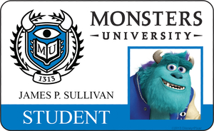 Monsters Unversity ID Sully