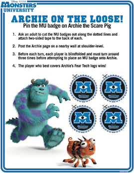 MonstersU - Archie On The Loose