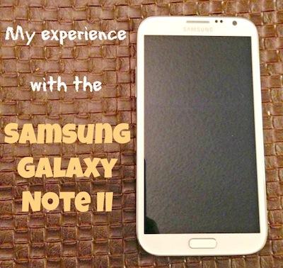 Best Sprint phones: Samsung Galaxy Note II