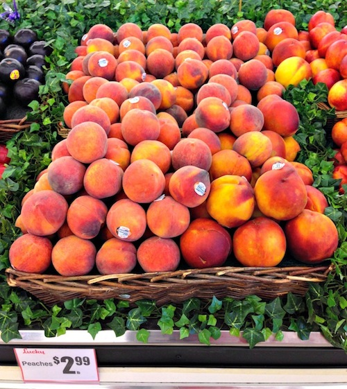 Lucky #FreshFinds Peaches #shop