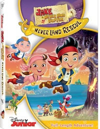 Jake And The Neverland Pirates NeverLand Rescue DVD