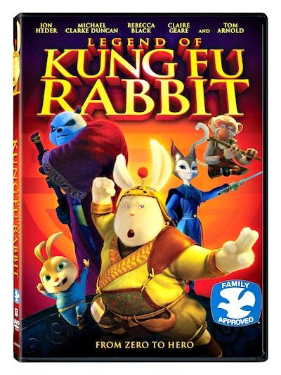 Legend Of Kung Fu Rabbit DVD