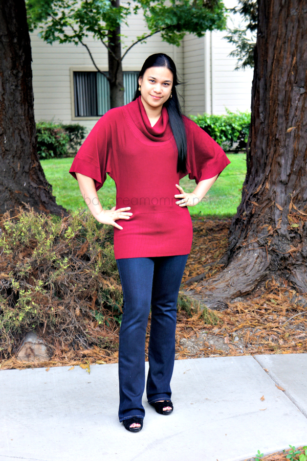 Monroe And Main Cowl Neck Sweater