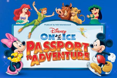 Disney On ice Passport To Adv