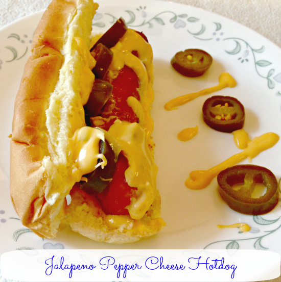 Jalapeno Pepper Cheese Hotdog #FreshFinds #cbias #shop