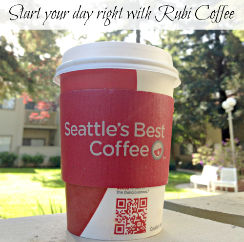 Start your day right with #Rubi2Go #cbias #shop