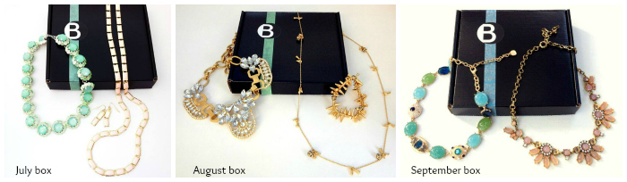 Your Bijoux Box - July, August, September