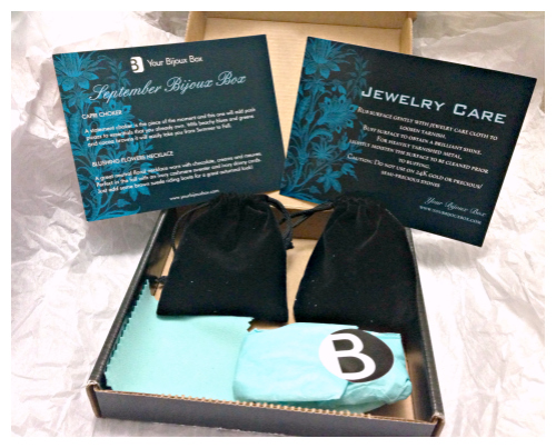 Your Bijoux Box - unboxing