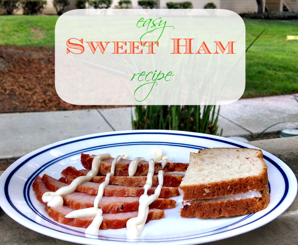 Easy Sweet Ham Recipe #FreshFinds #cbias #shop