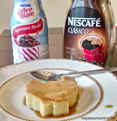 Turkey-Shaped Peppermint Mocha Leche Flan #LoveYourCup #Cbias #shop.jpg