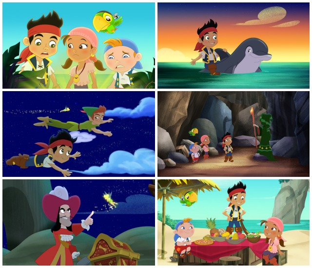 Jake And The Neverland Pirates Neverland Rescue