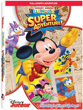 MMCH Super Adventure DVD art