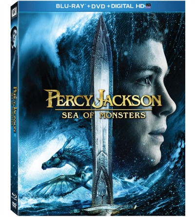Percy Jackson Box Art