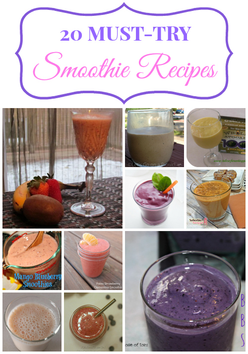 20 Must-Try Smoothie Recipes - Bay Area Mommy
