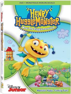 Henry Hugglemonster DVD