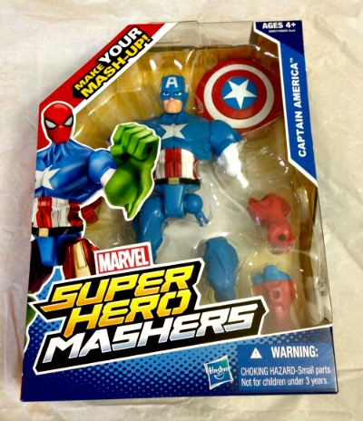 Marvel Super Hero Mashers in box