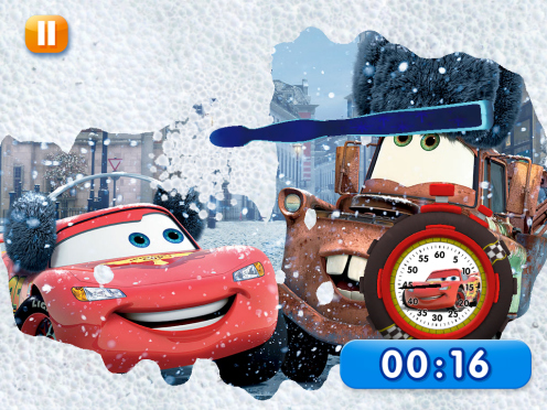 Disney Timer App -- Cars