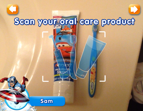 Disney Timer App from Oral-B