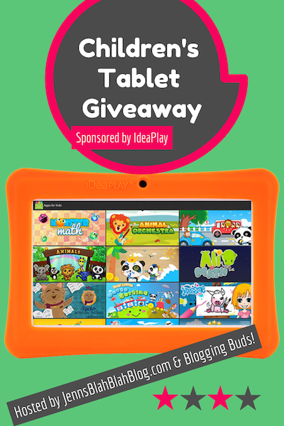 Children's Tablet Giveaway