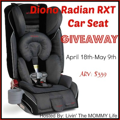 Diono-RadianRXT-Car-Seat-Giveaway