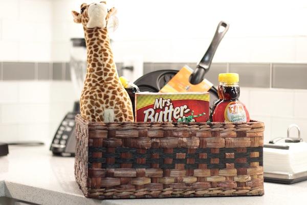 Giraffe Prize Basket