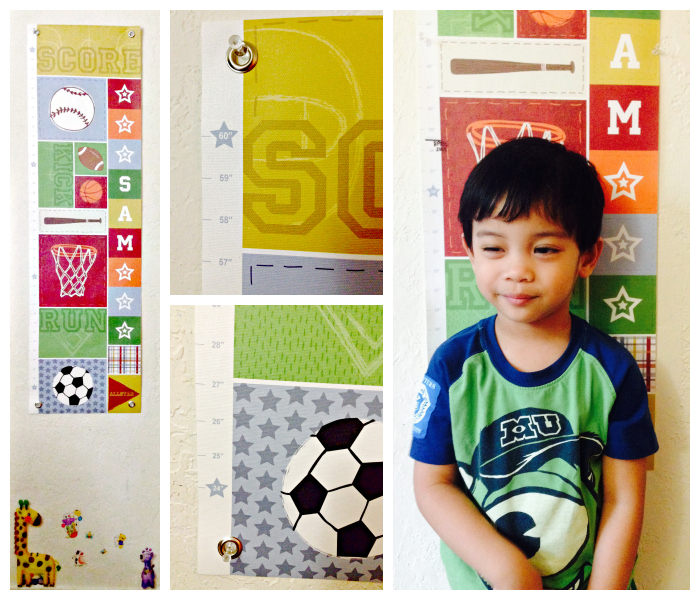 I See Me Personalized Growth Chart Review - Bay Area Mommy