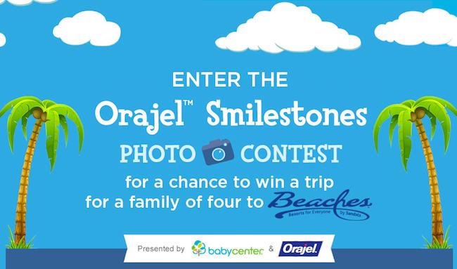 Orajel Smilestones Photo Contest