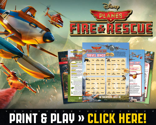 Planes Fire and Rescue Activity Sheets