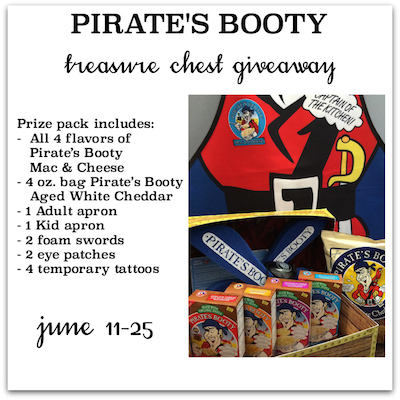 Pirate's Booty Mac and Cheese Giveaway