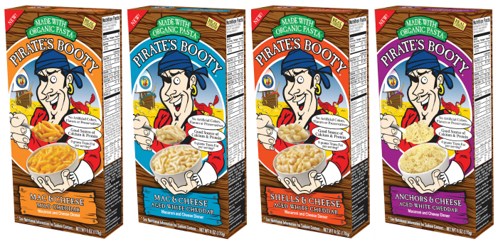 Pirate's Booty Mac and Cheese
