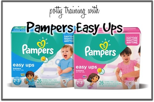 Potty Training with Pampers