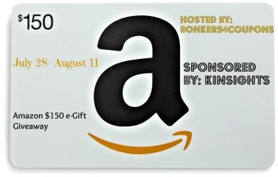 AMAZON $150 GC KINSIGHTS