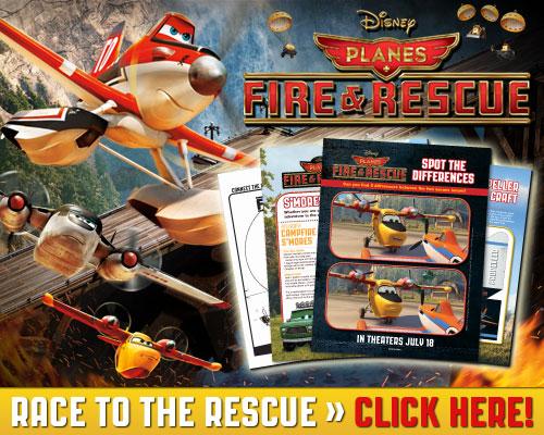 Planes Fire & Rescue Activity Sheets