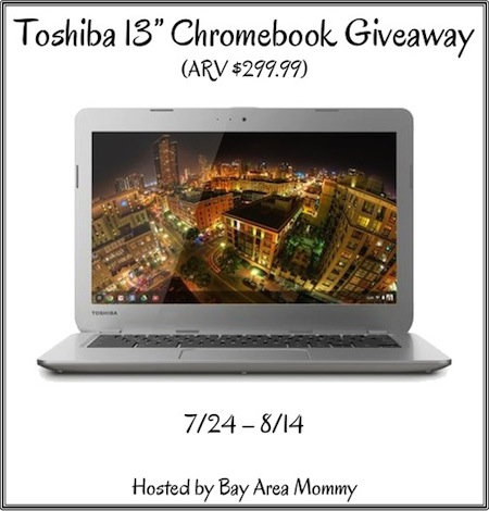 Toshiba Chromebook Giveaway