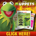 Muppets Most Wanted Recipes + Secret Identity Sheet