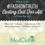 ModCloth #FashionTruth Casting Call For All