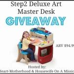 Step2 Deluxe Art Master Desk Giveaway