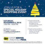 One Day Only! Best Buy Holiday Shopping Event @BestBuy #BBYShoppingEvent