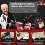 Guy Fieri Kitchenware Launch At Walmart Fairfield On Nov 5th