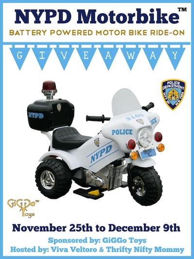 NYPD-GiGGo-Motorbike-Giveaway
