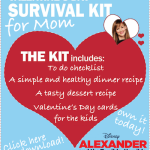 Valentine's Day Survival Kit For Mom