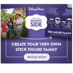 Get Your FREE Disney Side Family Decal!