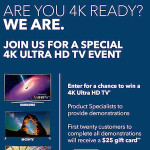 4K Ultra HD In-Store Events Happening Now At Best Buy! #UHDatBestBuy
