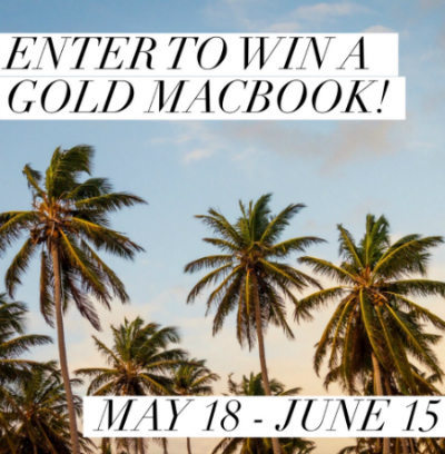 Gold MacBook Pro