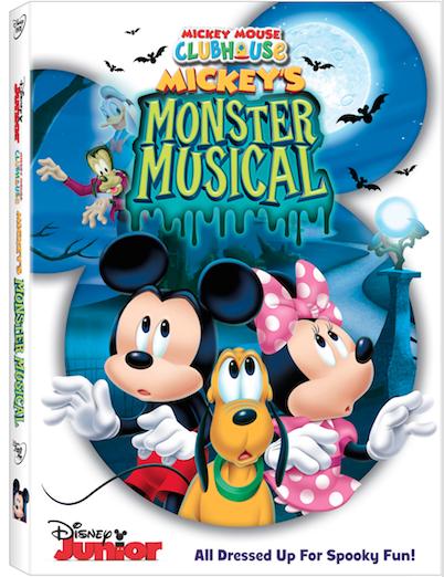 MMCH Mickeys Monster Musical DVD